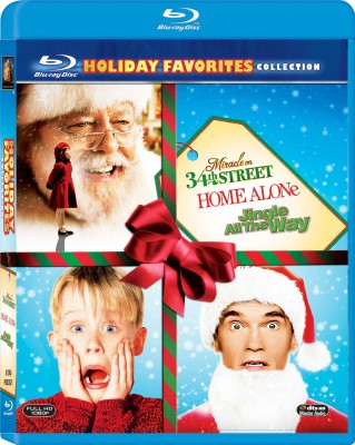 Christmas Favourites: HOME ALONE/JINGLE ALL THE WAY/MIRACLE ON 34TH STREET (BD)(Blu-ray English)  available at flipkart for Rs.2499
