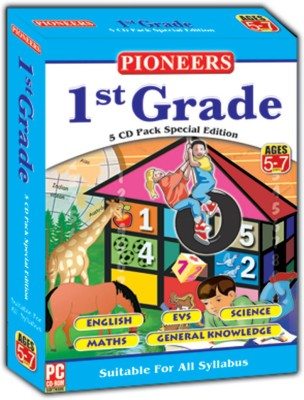 1ST GRADE 5 CD SPECIAL EDITION(Blu-ray English)  available at flipkart for Rs.475
