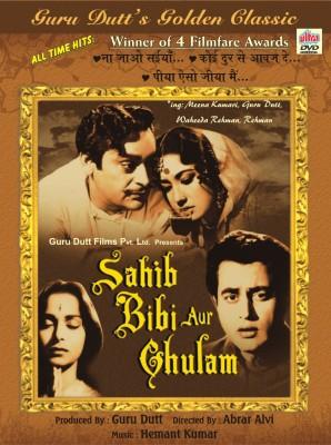 SAHIB BIBI AUR GHULAM Hindi Movie DVD(DVD Hindi)  available at flipkart for Rs.139