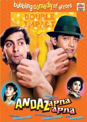 ANDAZ APNA APNA Hindi Movie DVD(DVD Hindi)  available at flipkart for Rs.139