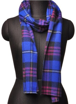 Aepl Checkered Women's Muffler at flipkart