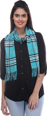 TAB91 Checkered Women's Muffler