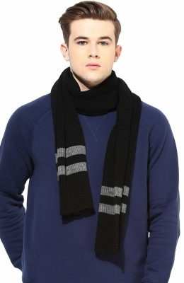 Brandonn Striped Men & Women Muffler
