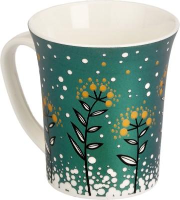 Somil Somil Fresh Green Nature Milk Cup Set Of One Ceramic Mug(250 ml)