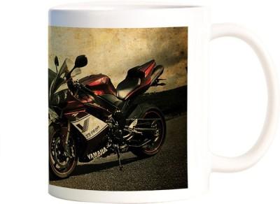 Rangeele Inkers yamaha YS Gear Ceramic Mug(300 ml)  available at flipkart for Rs.224