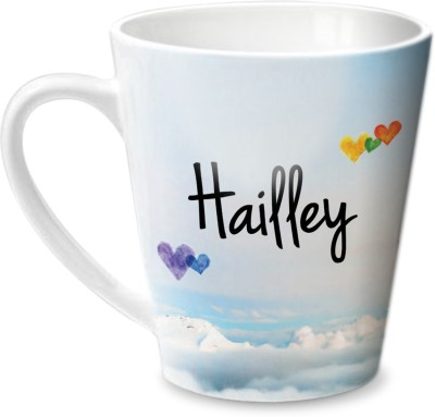 Hot Muggs Simply Love You Hailley Conical Ceramic Mug(350 ml) at flipkart