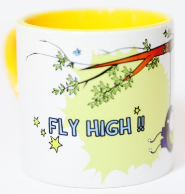Blitzen Fly High Boy Small Ceramic Mug(175 ml)