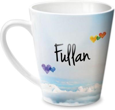 Hot Muggs Simply Love You Fullan Conical Ceramic Mug(350 ml) at flipkart