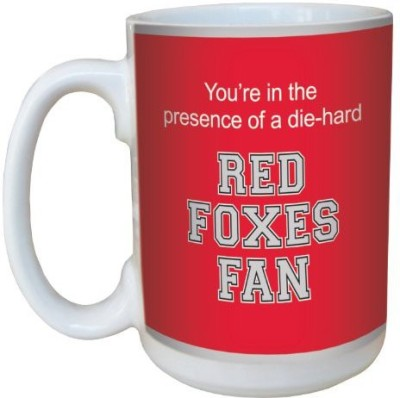 Tree-Free Greetings Greetings lm44480 Foxes College Football Fan Ceramic with Full-Sized Handle, 15-Ounce Ceramic Mug(60 ml) at flipkart