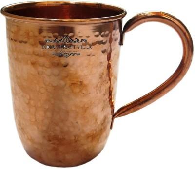 Indian Craft Villa ICV-C4-107 Copper Mug(575 ml)