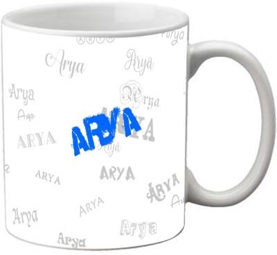 meSleep Arya-24861 Ceramic Mug(330 ml)  available at flipkart for Rs.249