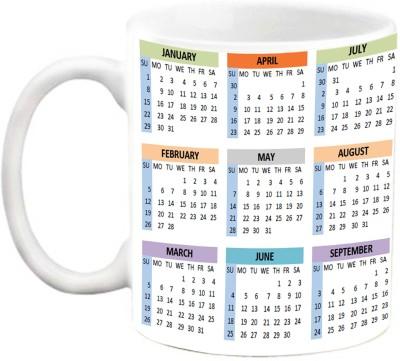 EFW COFFEE-MUG : Calendar 2017 Design2 Ceramic Mug(325 ml)