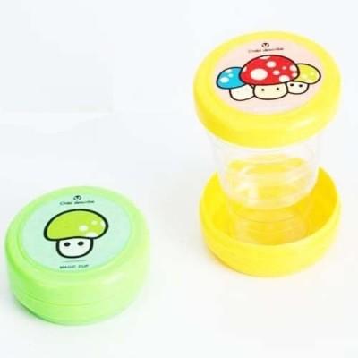 ChinuStyle Magic Mini Cartoon folding cups Plastic Mug(60 ml, Pack of 2) at flipkart