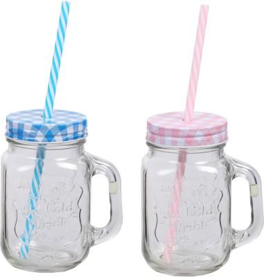Platex Classy Glass Mug(470 ml, Pack of 2) at flipkart