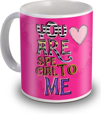 SKY TRENDS You Are Special To Me Gifts For Valentines's Day Ceramic Mug(350 ml)  available at flipkart for Rs.234