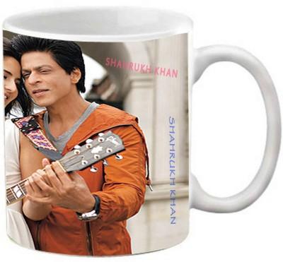 EFW Shahrukh Khan - Kajol Series (EFWMU0100078) Printed Coffee Ceramic Mug(325 ml)