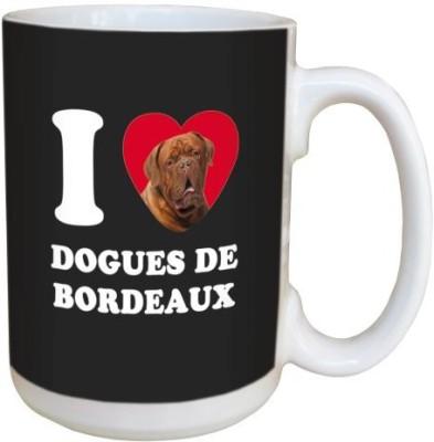 Tree Free Free Greetings LM45043 I Heart Dogues De Bordeaux Ceramic with Full-Sized Handle, 15-Ounce Ceramic Mug(60 ml) at flipkart