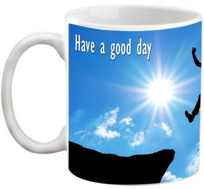 EFW Have A Good Day Inspirational Quotes In Order To Succeed Your Desire For Success Should Be More (Efwmu0100080) Printed Coffee Ceramic Mug(325 ml)