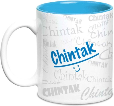 Hot Muggs Me Graffiti - chintak Ceramic Mug(350 ml)  available at flipkart for Rs.249