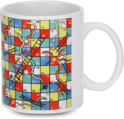 Posterboy Snakes, ladder Ceramic Mug  available at flipkart for Rs.134