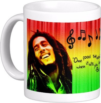 Exoctic Silver Bob Marley Collector Edition Series 13 Ceramic Coffee Mug 300 ml Exoctic Silver Mugs
