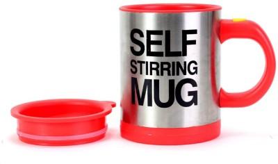Wink Self Stirring Plastic, Stainless Steel Mug at flipkart