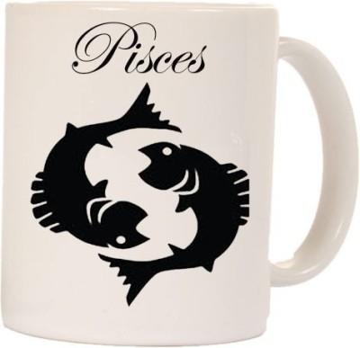 Smileonline Zodiac Coffee - Pisces Ceramic Mug  available at flipkart for Rs.270