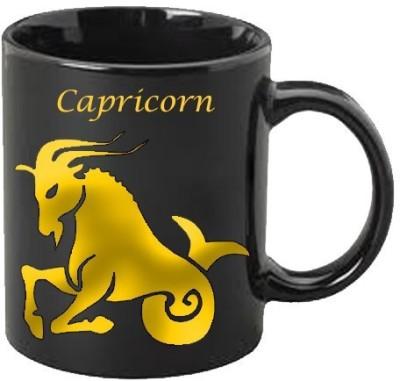 Smileonline Zodiac Coffee - Gold - Capricorn Ceramic Mug  available at flipkart for Rs.399