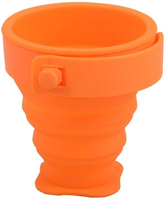 ShopeGift Magic Foldable, Collapsible Silicon Plastic Mug at flipkart