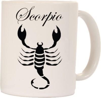 Smileonline Zodiac Coffee ? Scorpion Ceramic Mug  available at flipkart for Rs.270