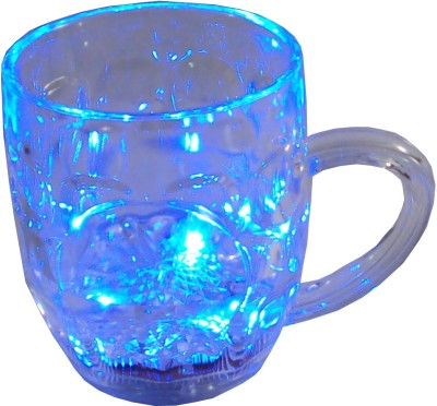 Parteet LED Flashing 7 Colour Changing Liquid Activated Plastic Mug(150 ml) at flipkart