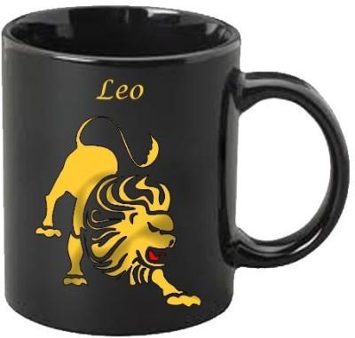 Smileonline Zodiac Coffee - Gold - Leo Ceramic Mug  available at flipkart for Rs.390