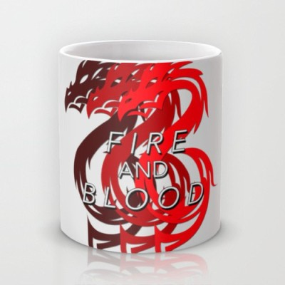 Astrode House Targaryen Game Of Thrones Ceramic Mug(325 ml)  available at flipkart for Rs.249