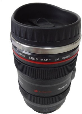 Cool Trends Caniam Thermos Lens Stainless Steel, Plastic Mug at flipkart