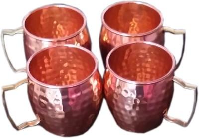 yogi yy564 Copper Mug(500 ml, Pack of 4) at flipkart