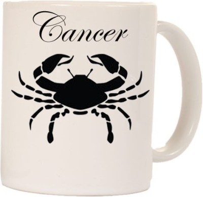 Smileonline Zodiac Coffee - Cancer Ceramic Mug  available at flipkart for Rs.270