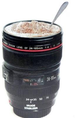 NP Plastics Camera 24-105mm Lens Tea Coffee 480ML -- 1:1 Size Plastic Mug(480 ml) at flipkart