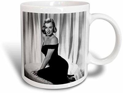 3dRose mug_107178_1 Marilyn Monroe in The Asphalt Jungle (1950) (Pd-Us) Ceramic, 11-Ounce Ceramic Mug(60 ml) at flipkart