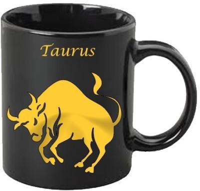 Smileonline Zodiac Coffee - Gold - Taurus Ceramic Mug  available at flipkart for Rs.390