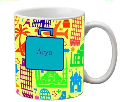 meSleep Arya Ceramic Mug(330 ml)  available at flipkart for Rs.249