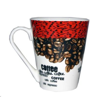 SNYTER Cafe coffee Ceramic Mug(300 ml)  available at flipkart for Rs.250
