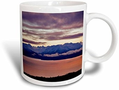 3dRose mug_87323_2 Kachemak Bay, Kenai Mountains, Homer, Alaska US02 AJE0018 Adam Jones Ceramic, 15 oz, White Ceramic Mug(60 ml) at flipkart