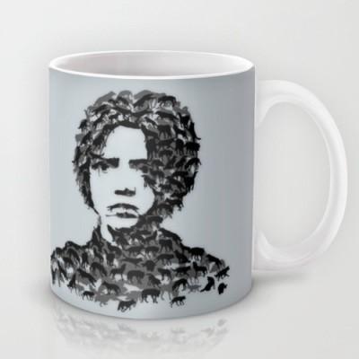 Astrode Arya Stark Game Of Thrones Ceramic Mug(325 ml)  available at flipkart for Rs.249