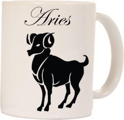 Smileonline Zodiac Coffee - Aries Ceramic Mug  available at flipkart for Rs.270