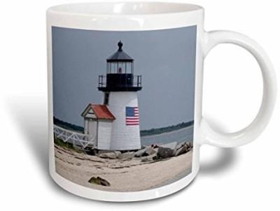 3dRose Massachusetts, Nantucket. Brant Point Lighthouse. Ceramic, 15 oz, White Ceramic Mug(60 ml) at flipkart