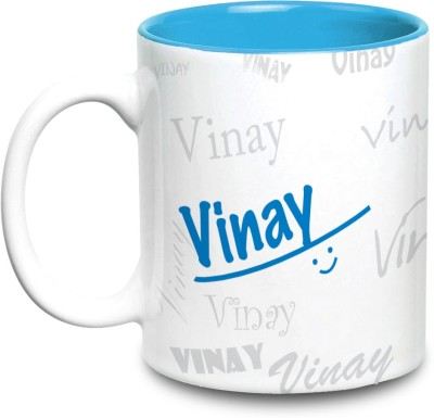 Hot Muggs Me Graffiti - Vinay Ceramic Mug(315 ml)