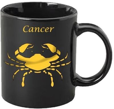 Smileonline Zodiac Coffee - Gold - Cancer Ceramic Mug  available at flipkart for Rs.385