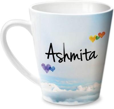 Hot Muggs Simply Love You Ashmita Conical Ceramic Mug(350 ml) at flipkart