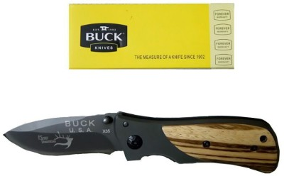 Buck X35 Swiss Army Knife(Black, Khaki, Multicolor)