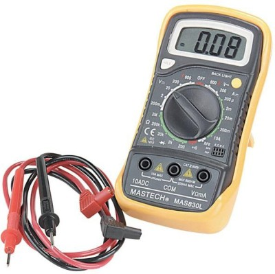 Unity 830l Multimeter Digital Multimeter(Black 6000 Counts) at flipkart